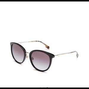Burberry 56 mm women's aviator sunglasses